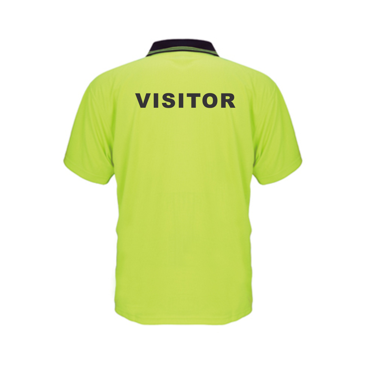 UU007 Safety SS Polo VISITOR